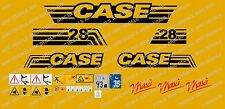 CASE CX28 MAXI MINI DIGGER COMPLETE DECALS STICKER SET
