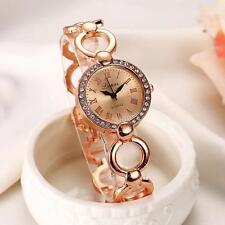 Women's Watch Luxury Bracelet Dress Girl Wrist Watch Rhinestone Bling Watch Gift