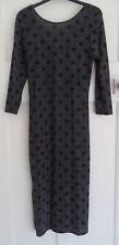 Atmosphere Ladies Black & Silver Long Sleeved Dress size 14