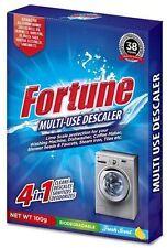 4 Pc Fortune Scale Remover Descaler Descalent Powder Washing Machines Dishwasher