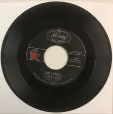 """LESLEY GORE """"She's A Fool"""" b/w """"The Old Crowd"""" VG+ Mercury 72180 Quincy Jones"""