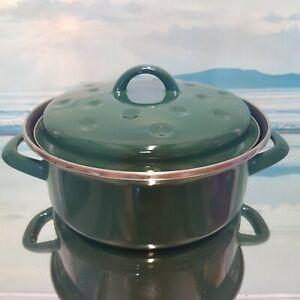Vintage Casserole Pot 22 cm JUDGE Cooking Pan Curry Pot Chilli Camper Van VW
