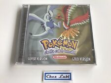 Pokemon Gold & Silver (Or & Argent) - Limited Edition Extra CD - Neuf Blister