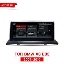 "BMW X 3 E83 10.25 ""Android 4.4 pantalla táctil GPS Navi multimedia USB WIFI SD 1 + 16 GB"