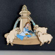 Disneyland Paris Belle Fountain Jumbo Pin