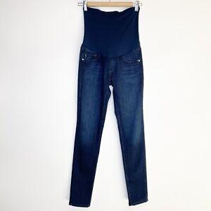AG Adriano Goldschmied Women's Stretch Skinny Maternity Ankle Jeans Size 26R