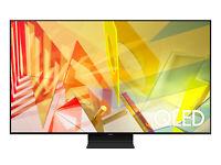 "Samsung Q90 75"" 4K QLED Smart TV - Titan Black"