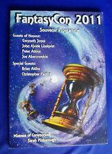 Fantasy Con 2011, Birmingham (UK).  program book: incl data on all previous cons