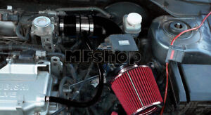 Black Red For 2002-2006 Mitsubishi Lancer 2.0L 4cyl OZ LS ES Air Intake + Filter