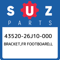 43520-26J10-000 Suzuki Bracket,fr footboard,l 4352026J10000, New Genuine OEM Par