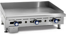 Imperial Range Imga 2428 24 Commercial Gas Griddle Manual Flat Grill 34 Plate