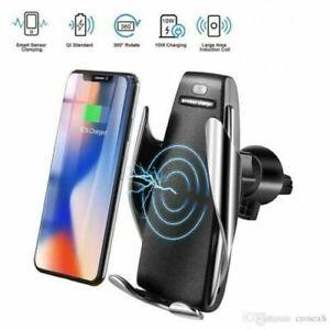 CARICATORE WIRELESS QI AUTO IPHONE SAMSUNG