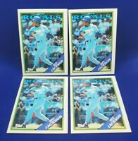 Lot of 4 Bo Jackson 1988 Topps 3rd year card NM-MT #750 20-2210H