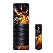 Skin Decal Vinyl Wrap for Amazon Echo Device / Light exposure