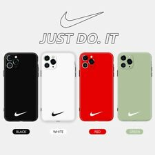Nike Loogo Simple Plain Couple Cool Phone Case Cover For iPhone11Pro 7 8Plus XR