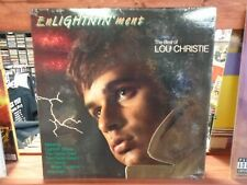 'Enlightninment' Lou Christie LP Rhino Records VG+ 1988