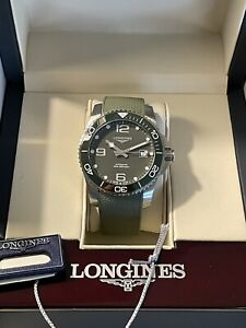 Longines HydroConquest Green Men's Watch Automatic  41mm
