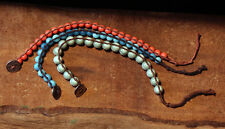 3 Bracelets Multi-Pack ~ #B8 ~ Lot of Three Strands:  Blue, White, Stripe, Brown