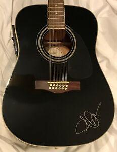 Robert Plant Signed Guitar Led Zeppelin Autographed Guitar (Jimmy Page JP Jones)