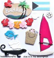 EK Success jolee's Boutique 3-d ADHESIVOS - CONCHAS Playa Vacaciones APARTAMENTO