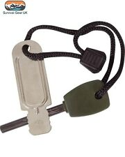 LARGE MILITARY FIRE STARTER 4000 STRIKES FIRE LIGHTER CAMPING ARMY SAS SURVIVAL