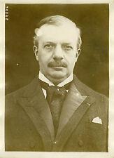 """""""Mr MAGINOT (Election présidentielle 1931)"""" Photo originale G.DEVRED / Agce ROL"""