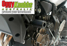 OK834 YAMAHA MT-07 2014-19 OGGY KNOBBS NO CUT KIT (Black Knobs) Crash Protection