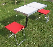 Vintage retro 1950's folding camping picnic table Seluart twin fold classic VW