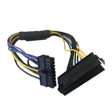 24 Pin To 18 Pin ATX Power Supply Adapter for HP Z420/Z620 Workstations 30cm 1Pc