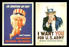 Vintage Style Retro Postcards Lot Uncle Sam Collector Snailmail Americana