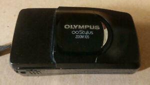 OLYMPUS Infinity Stylus ZOOM 105 35mm Film Camera - Tested, Works