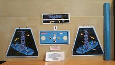 New decals for vintage coleco zaxxon electronic mini arcade  table top game