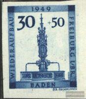 Franz. Zone-Baden 41B postfrisch 1949 Freiburg