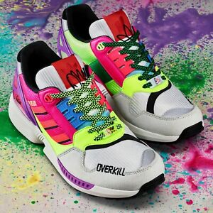 Adidas ZX 8500 x OVERKILL Berlin - EU 45 1/3 US 11 - Neu DS Graffiti 1UP A-ZX