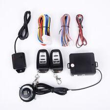 12V Car Auto Start Push Button Ignition Engine Alarm System Remote Control Kit