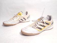 ad7616ce2010 EUC Adidas Predator Absolado X Indoor Soccer Shoes White Yellow US 11.5 EUR  46