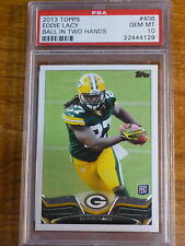 2013 Topps Eddie Lacy RC #406 Packers PSA 10 GEM MINT (#OD1312)