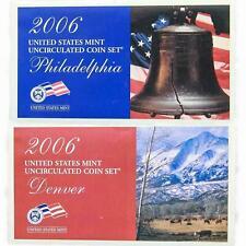 2006 Mint Set Original Envelope 20 Brilliant Uncirculated US Coins Satin Finish