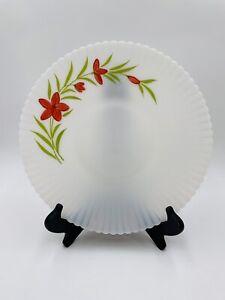 "Vintage Macbeth Evans Monax Florette Cake Plate  10-3/4"""
