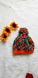 Crochet Knitted Hat / Gorro Tejido a mano