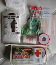 Radler Set 16tlg für Notfälle unterwegs Erste Hilfe Verband & Fahrrad Flickzeug
