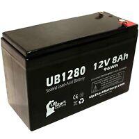 12V 8Ah Sealed Lead Acid Battery For APC BACK-UPS ES 8 OUTLET 650VA BE650R