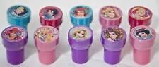 Disney Princess Tangled Rapunzel Aurora Ariel Belle Cinderella 10 Stamps Party