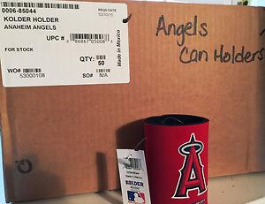 Angels MLB Logo Kolder Can Beer Soda Holder Coozie Koozie-50 Unit Case