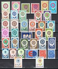 Europa cept year set 1964 Complete jaargang - MNH Cataloguswaarde € 86