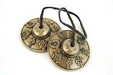 Quality Tingsha/Bell Cymbals 8 Auspicious Meditation/Healing/Aura/Good Luck