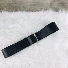NWT Woman's Black Leather  Ralph Lauren Belt