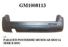 PARAURTI POSTERIORE MICROCAR MGO 1à SERIE GM1008113