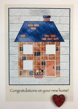 """Blank Greetings Card """"Congratulations On Your New Home"""""""