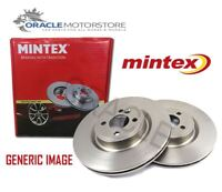 NEW MINTEX FRONT BRAKE DISCS SET BRAKING DISCS PAIR GENUINE OE QUALITY MDC2091